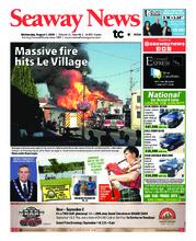 Seaway news – 1 août 2018