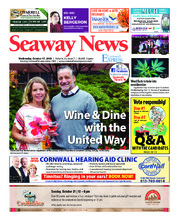 Seaway news – 17 octobre 2018