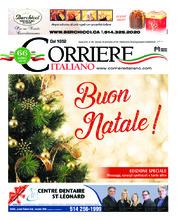 Corriere Italiano – 20 décembre 2018
