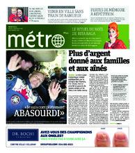 Journal Métro – 4 décembre 2018