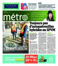 Journal Métro – 5 décembre 2018