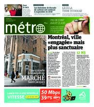 Journal Métro – 6 décembre 2018
