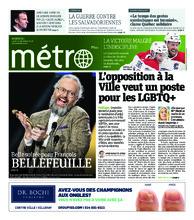Journal Métro – 10 décembre 2018
