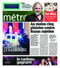 Journal Métro – 12 décembre 2018
