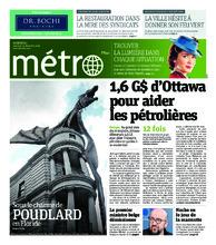 Journal Métro – 19 décembre 2018