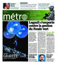 Journal Métro – 20 décembre 2018