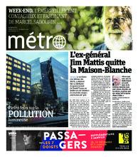 Journal Métro – 21 décembre 2018
