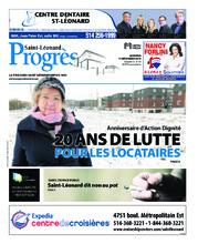 Progrès Saint-Léonard – 11 décembre 2018