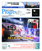 Progrès Saint-Léonard – 25 décembre 2018