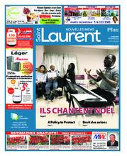 Nouvelles St-Laurent News – 5 décembre 2018