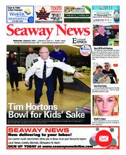 Seaway news – 9 janvier 2019