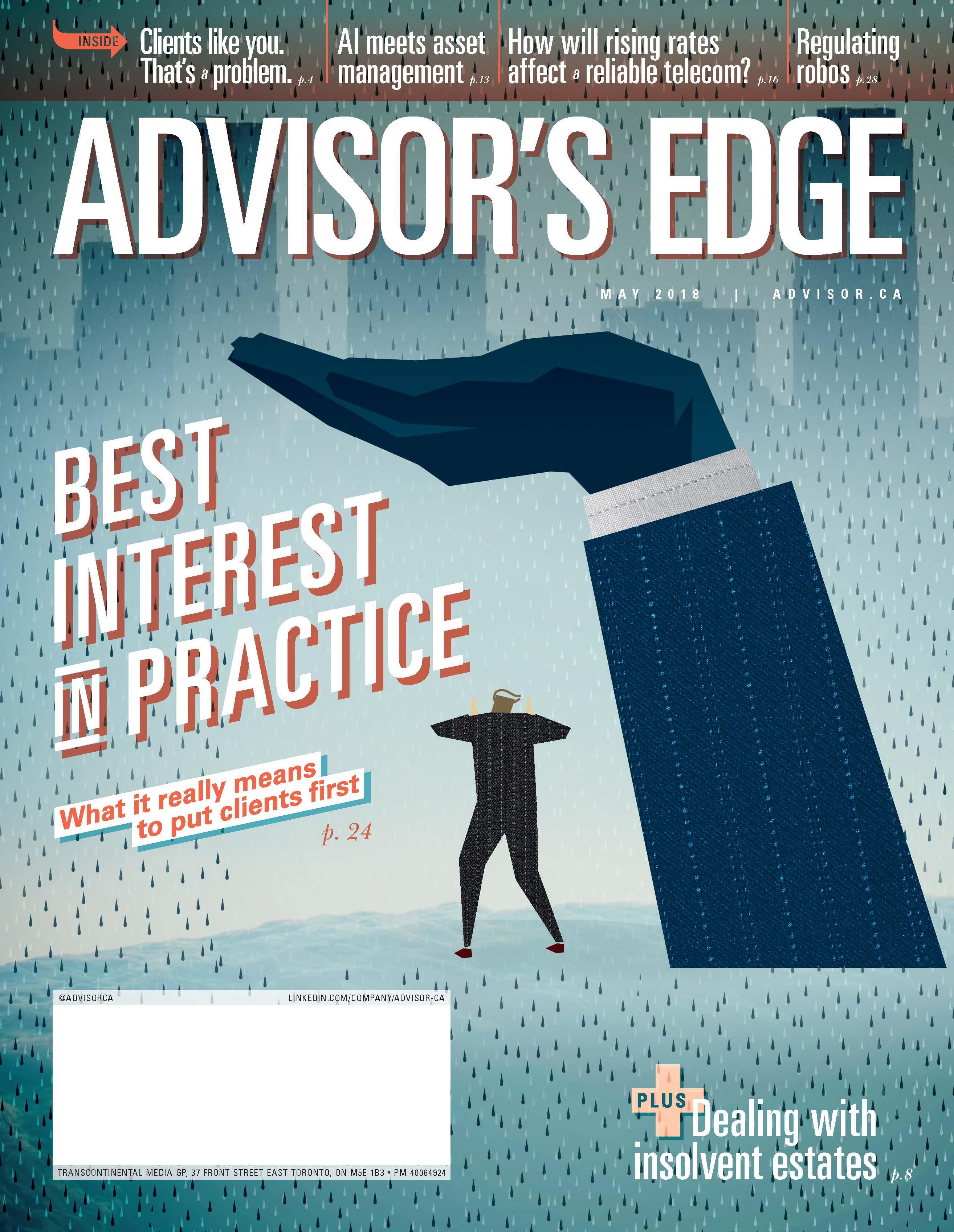 Advisor's Edge – 1 mai 2018