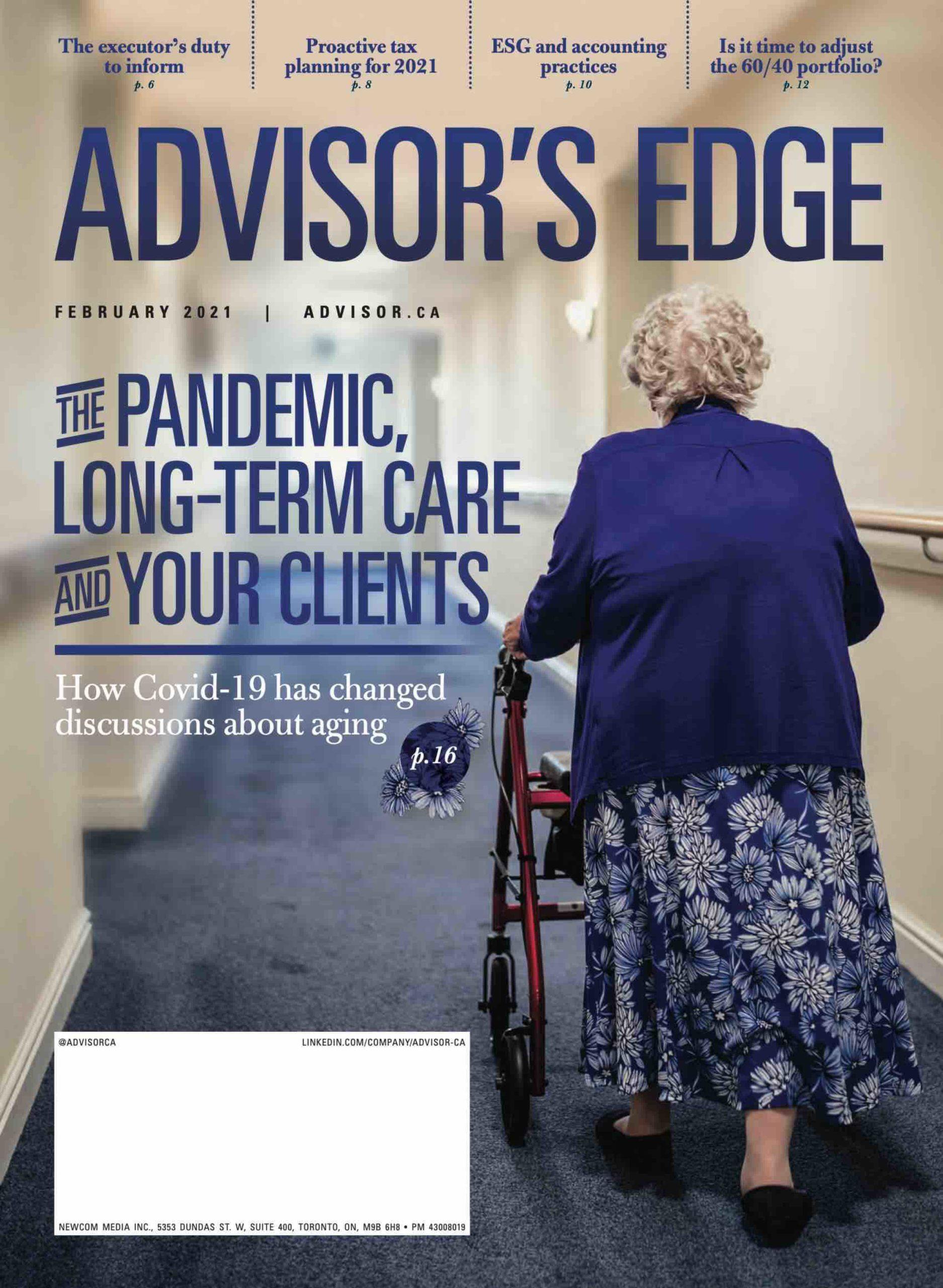 Advisor's Edge – 8 février 2021