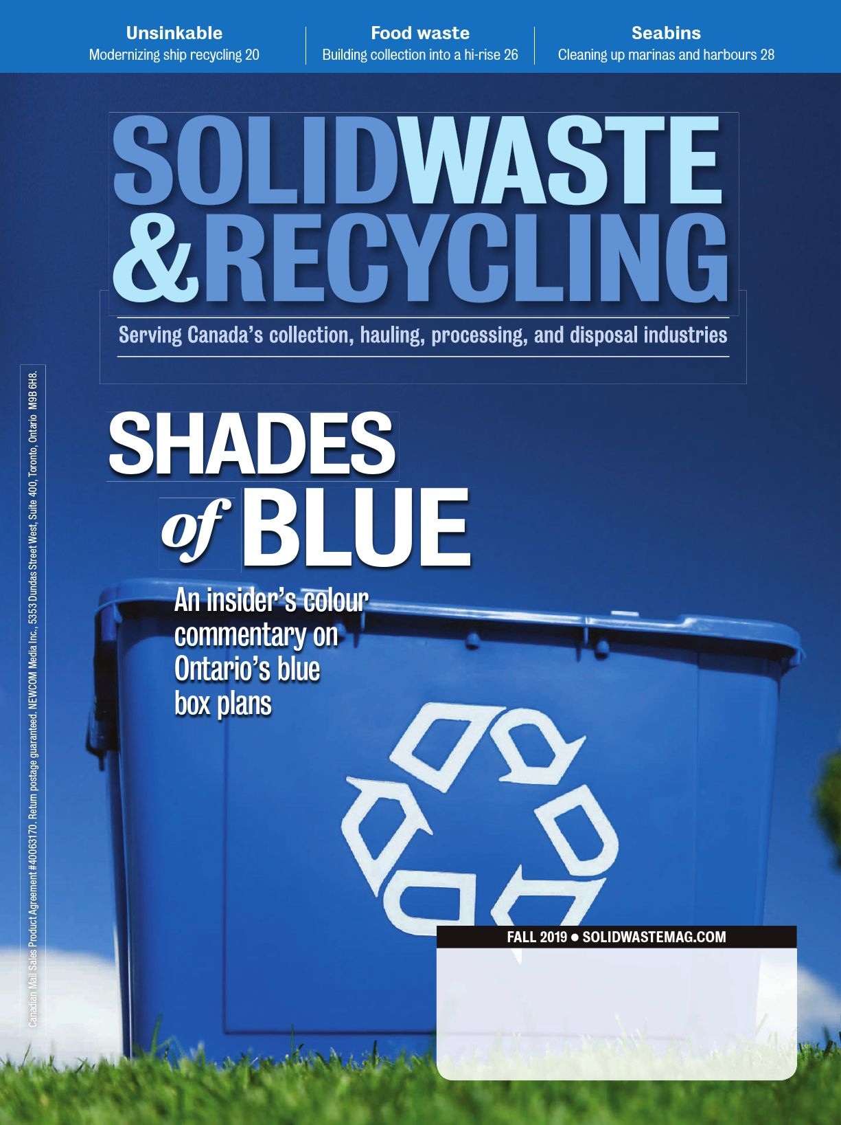 Waste & Recycling – Fall 2019