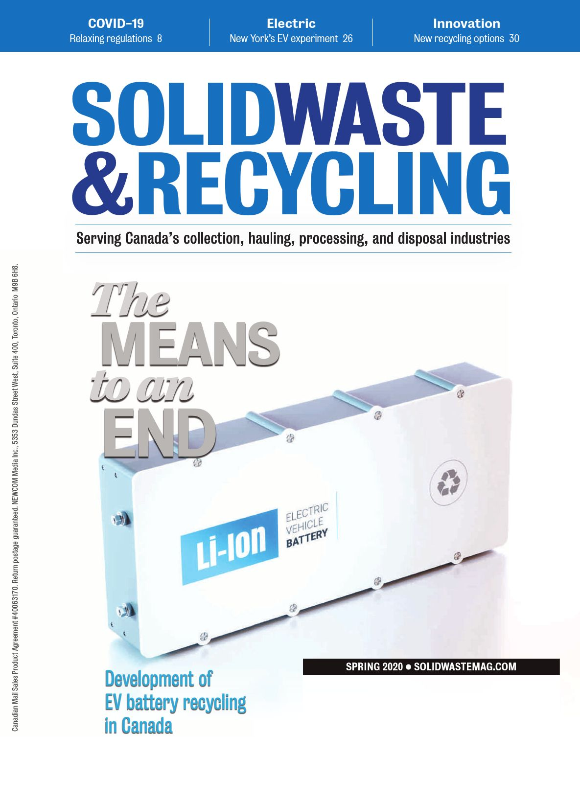 Waste & Recycling – Spring 2020