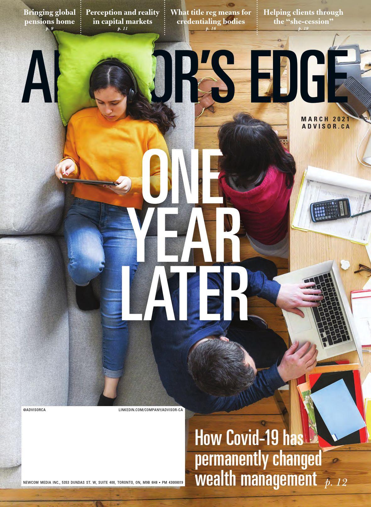 Advisor's Edge – 12 mars 2021