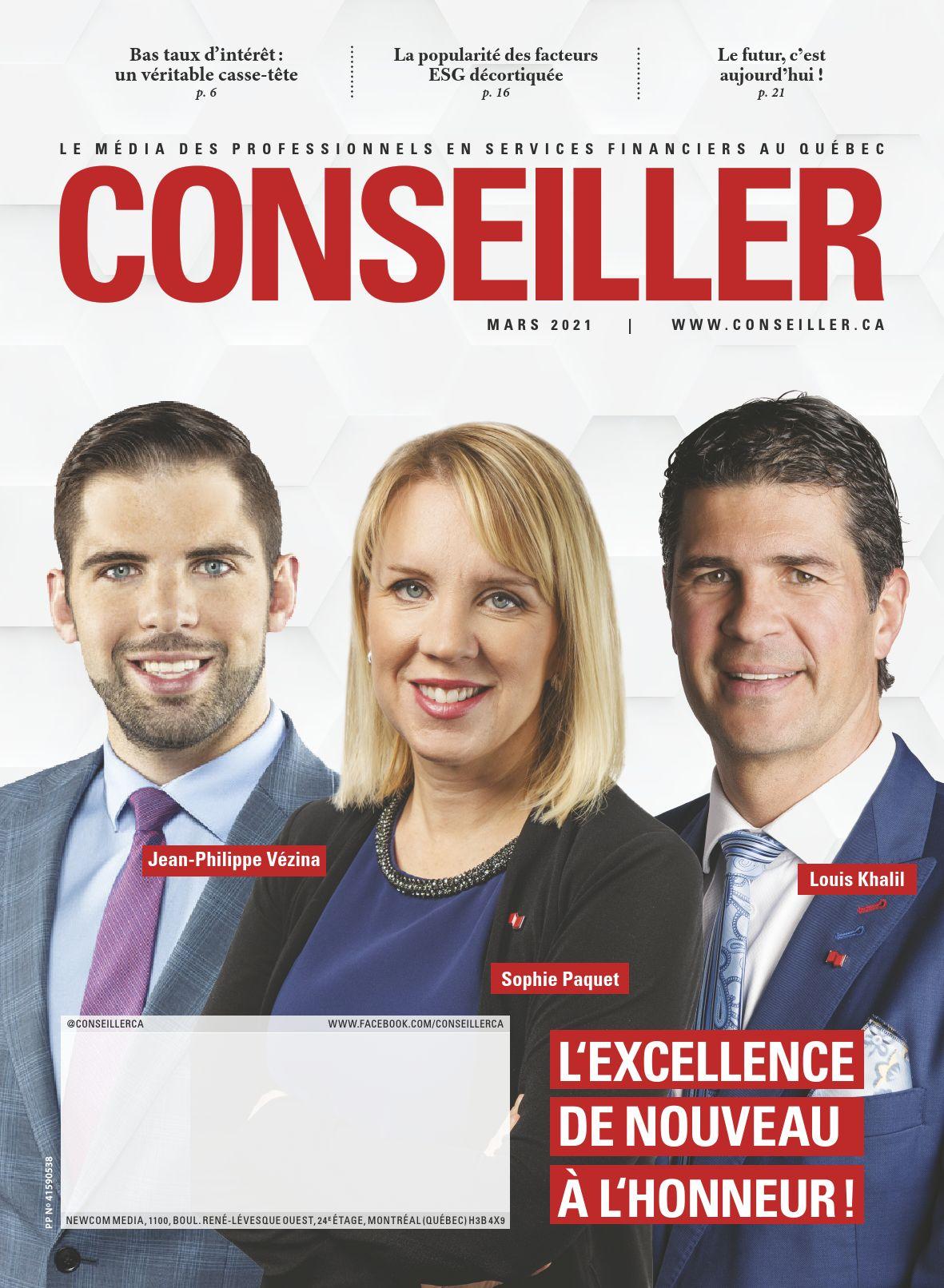 Conseiller – 1 mars 2021