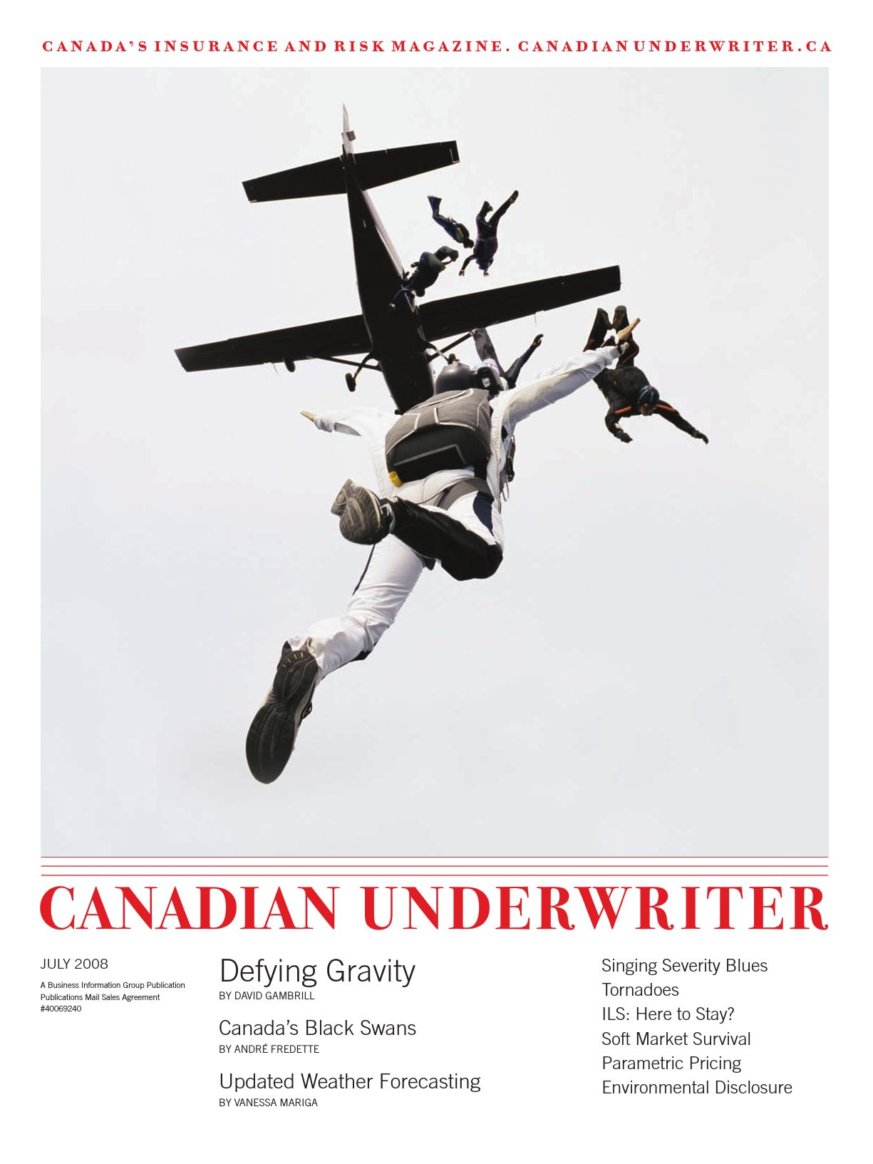 Canadian Underwriter – 1 juillet 2008