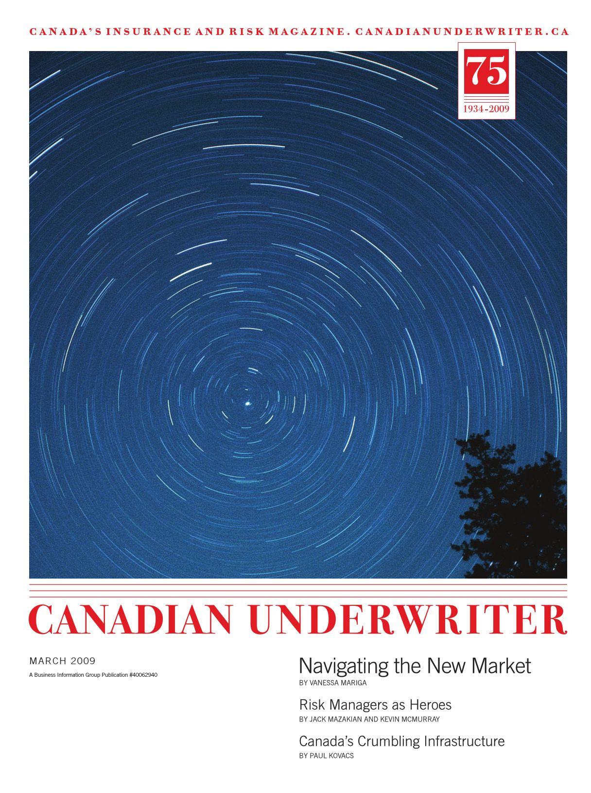 Canadian Underwriter – 1 mars 2009
