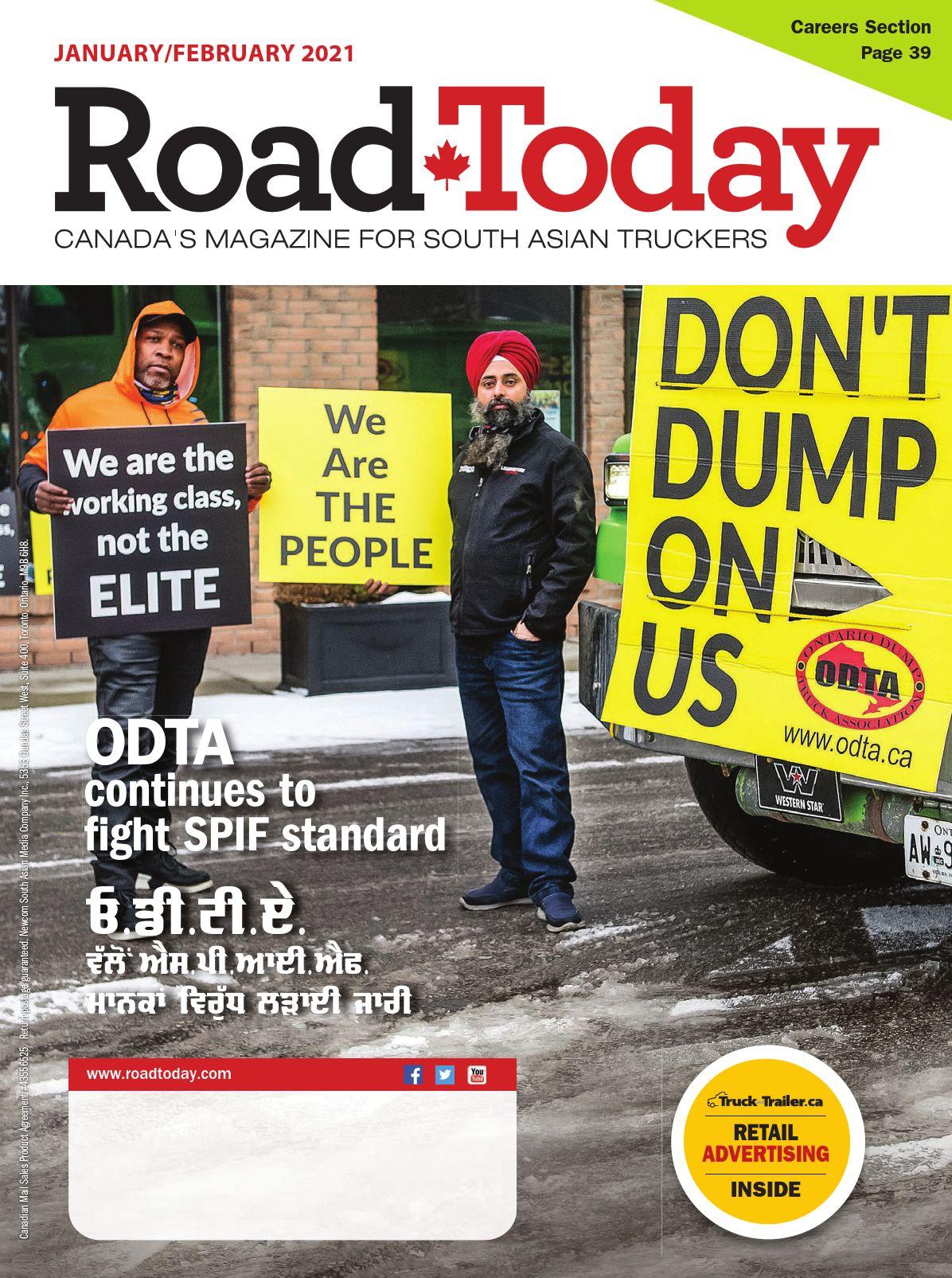 Road Today – 2 janvier 2021