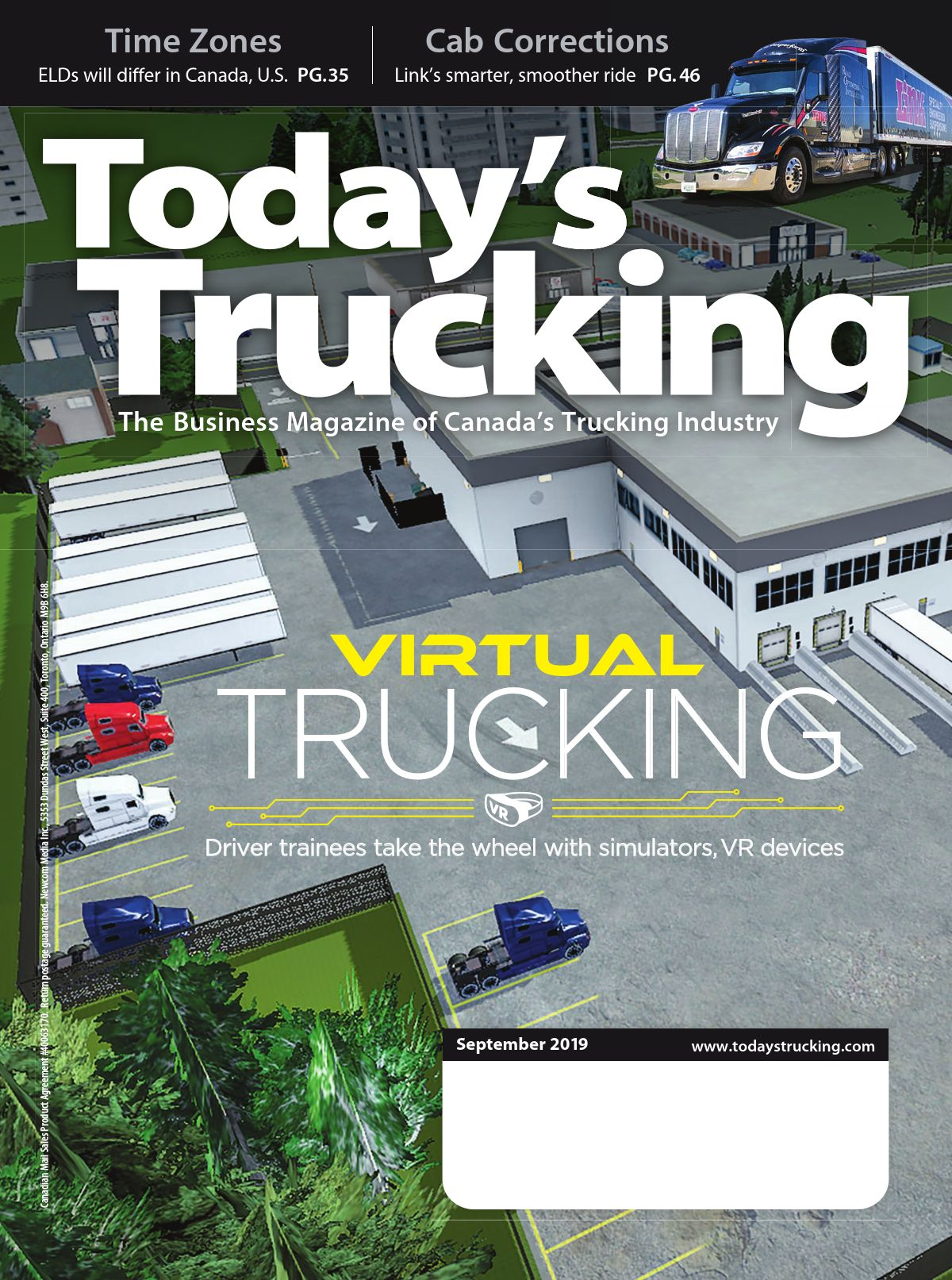 Today's Trucking – 1 septembre 2019