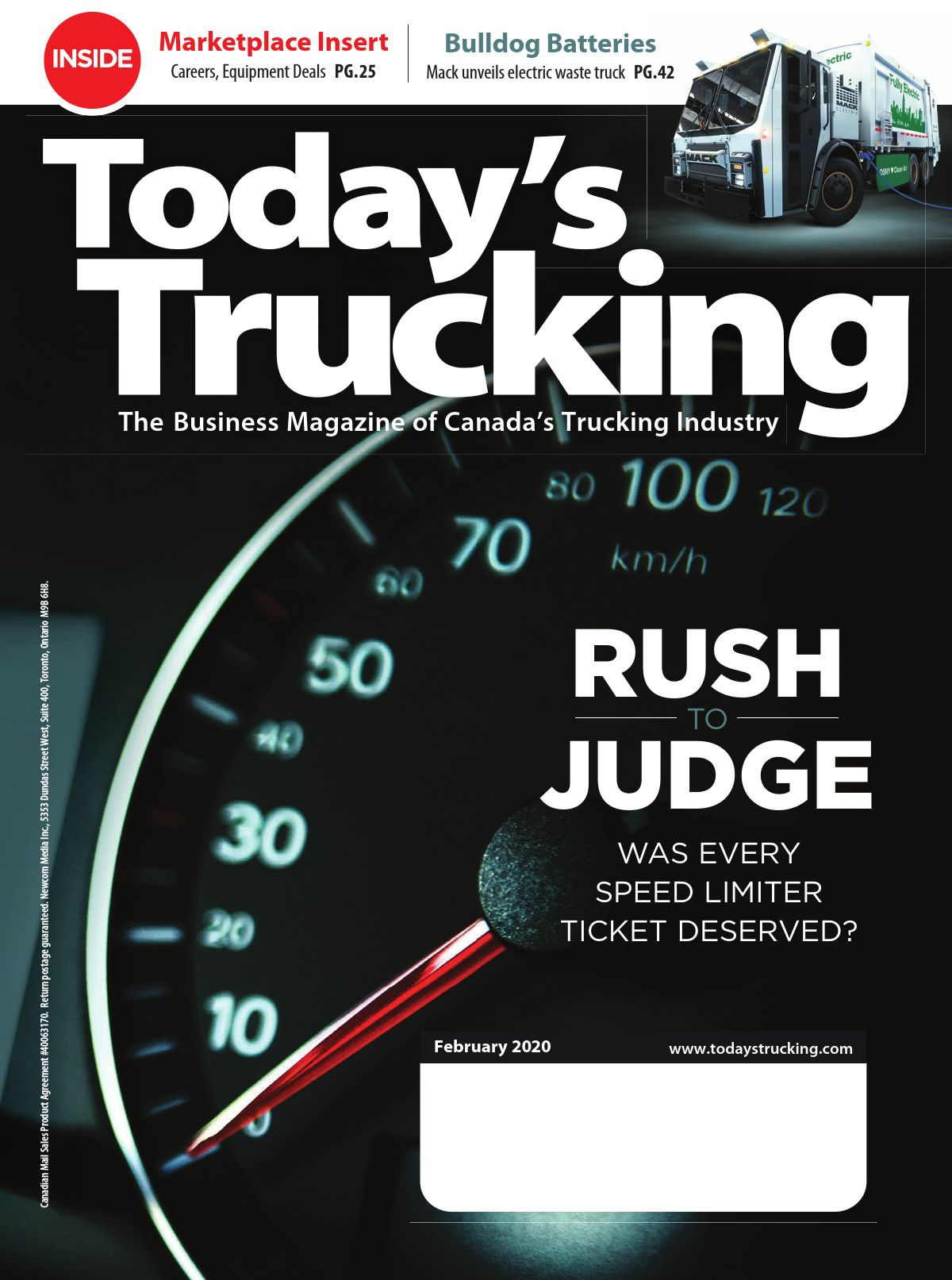 Today's Trucking – 1 février 2020
