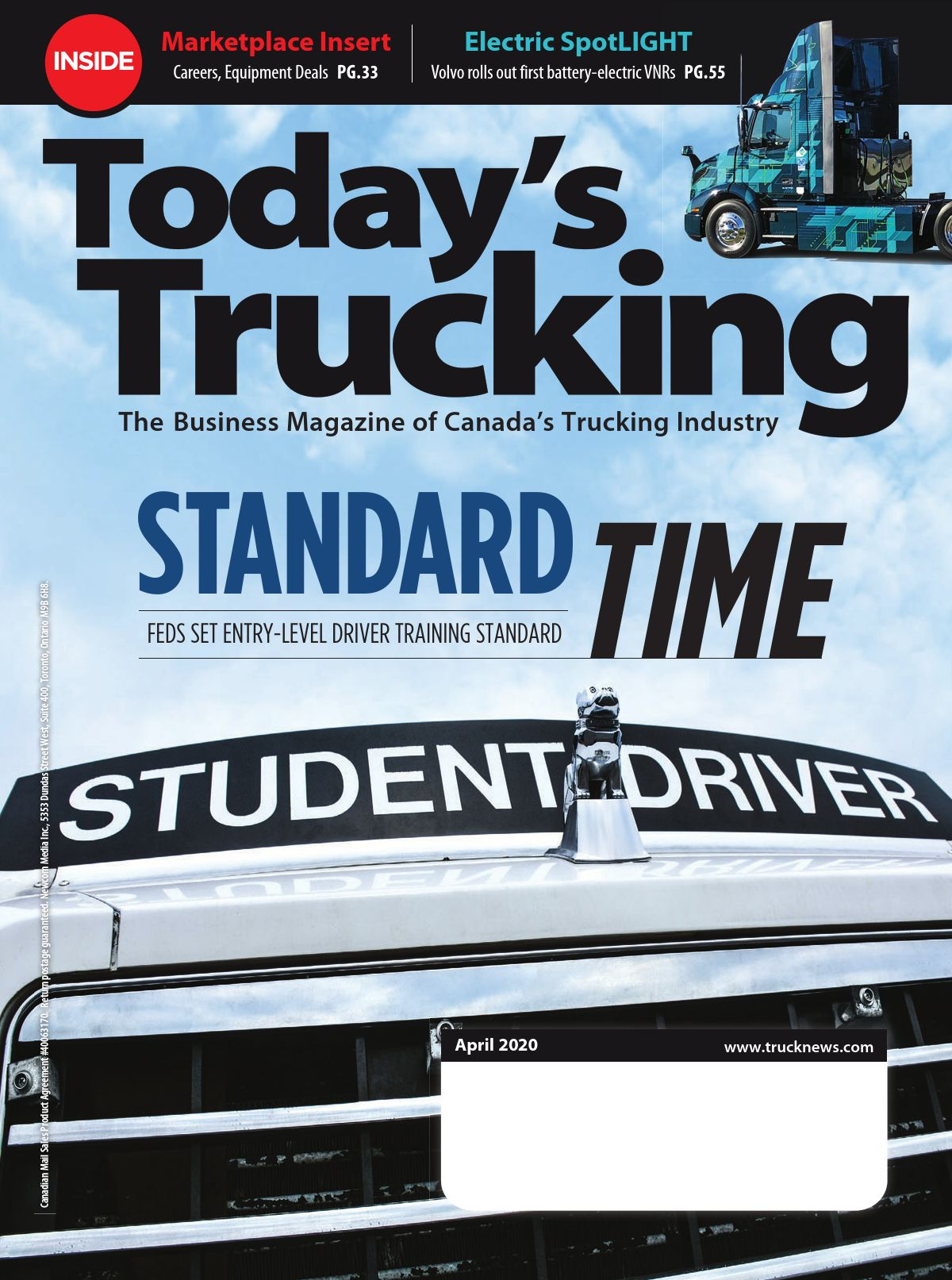 Today's Trucking – 1 avril 2020