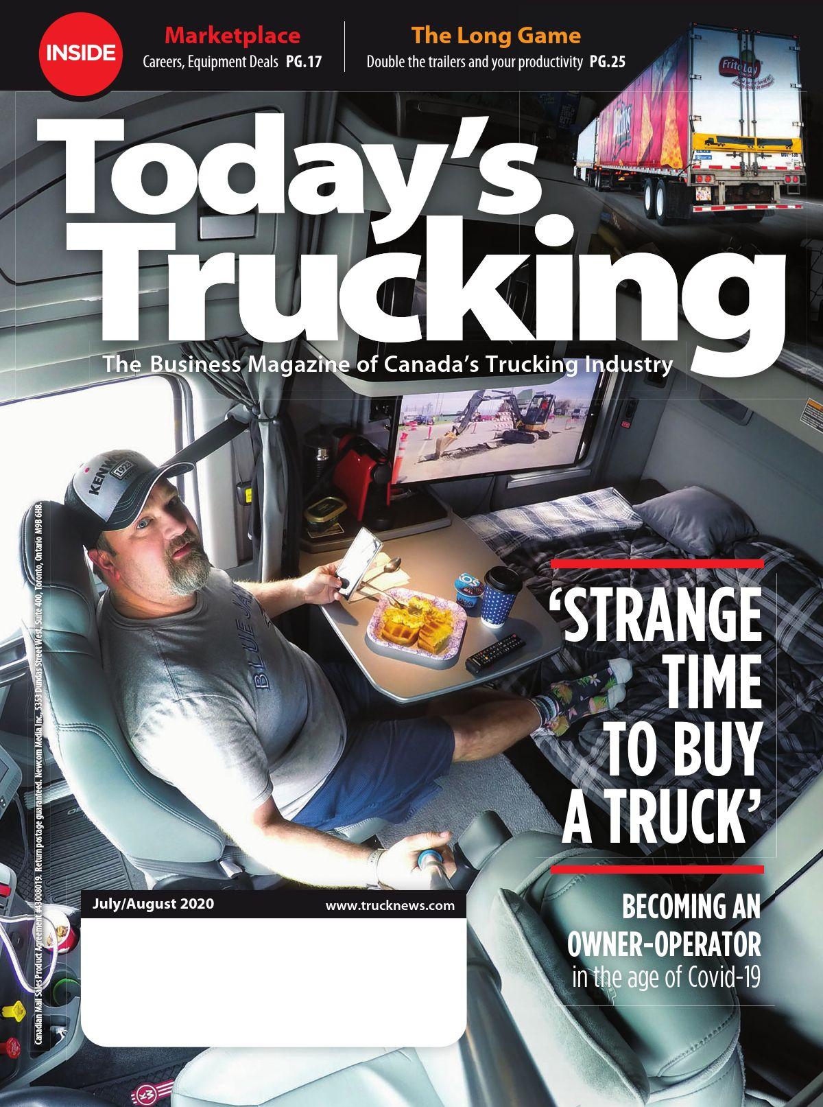 Today's Trucking – 1 juillet 2020