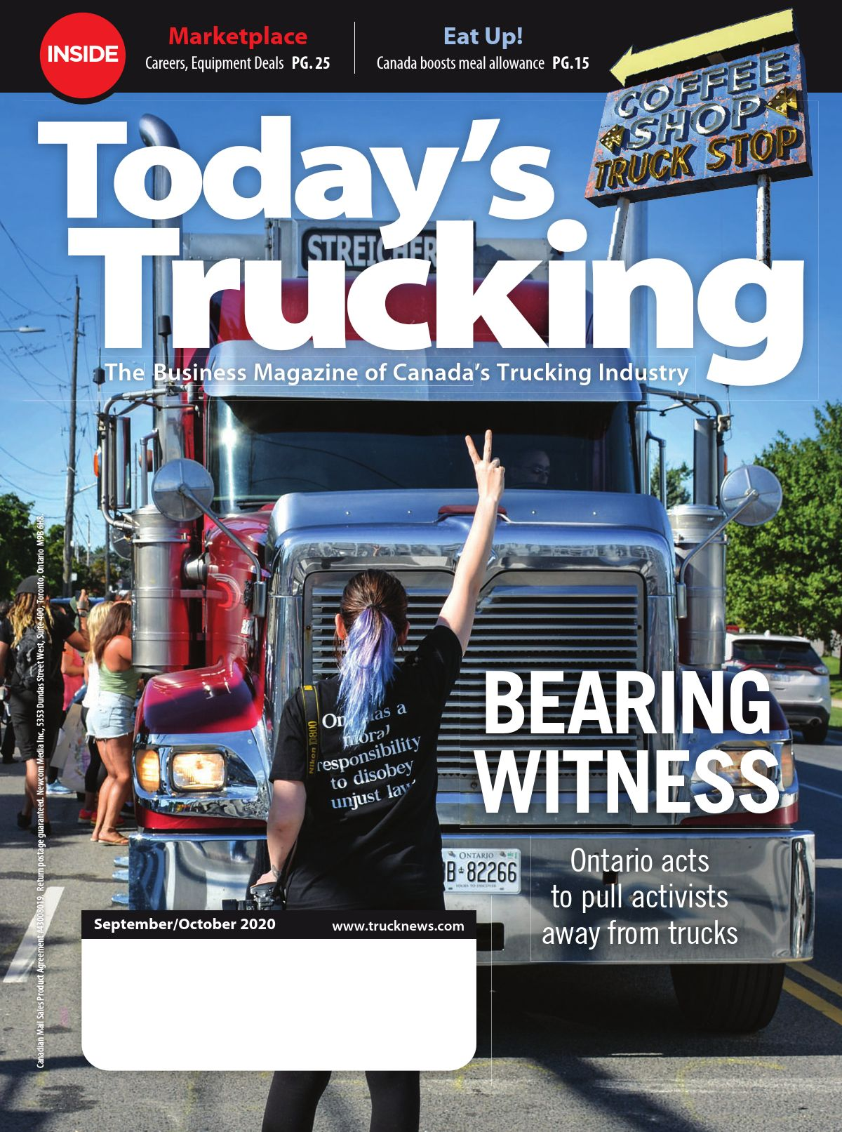 Today's Trucking – 1 septembre 2020