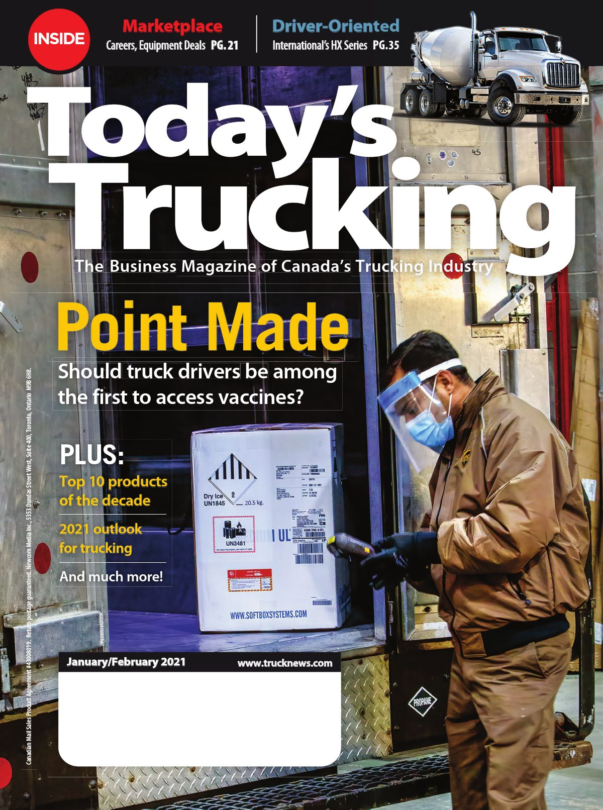 Today's Trucking – 1 janvier 2021