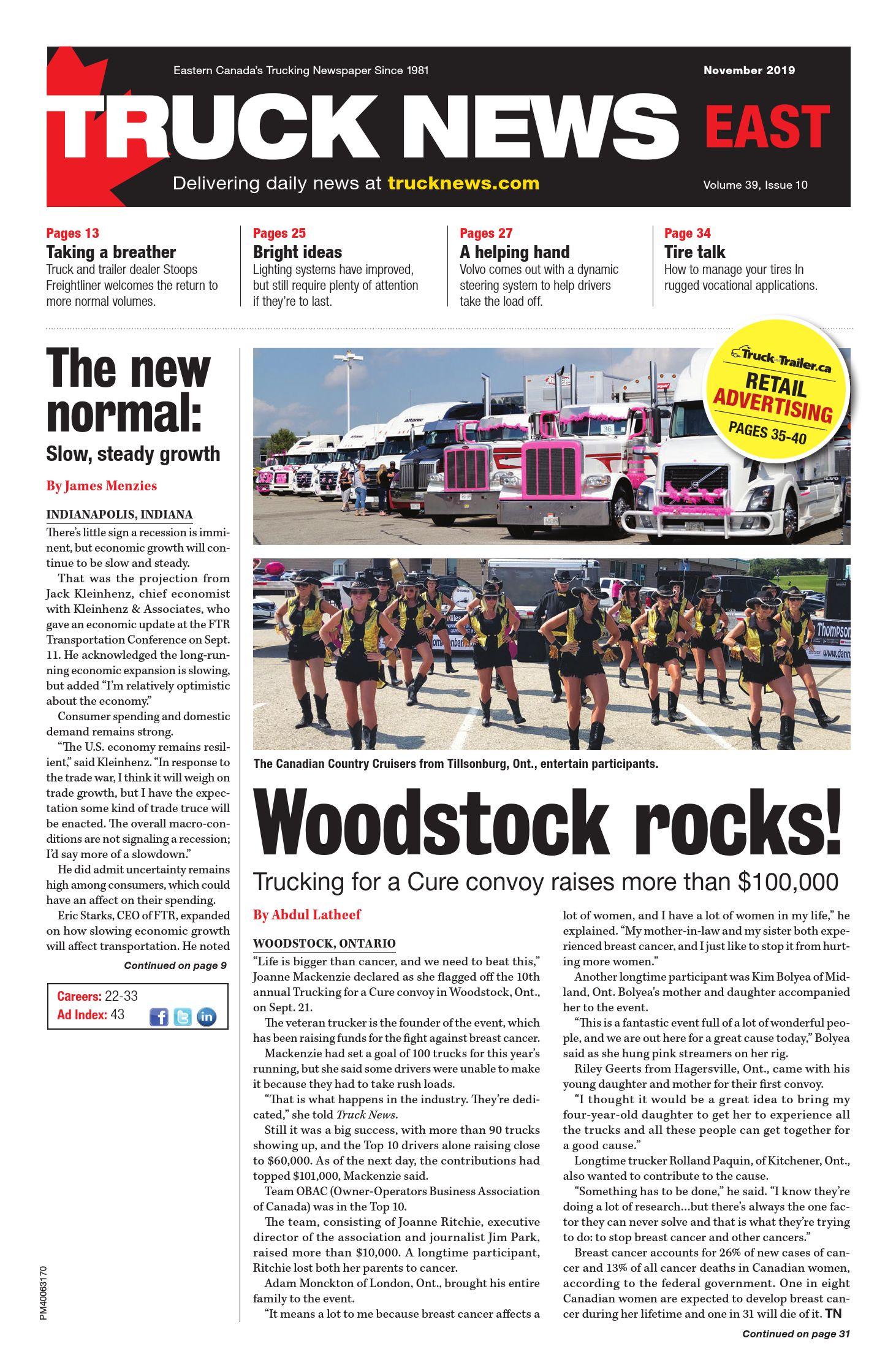 Truck News East – 1 novembre 2019