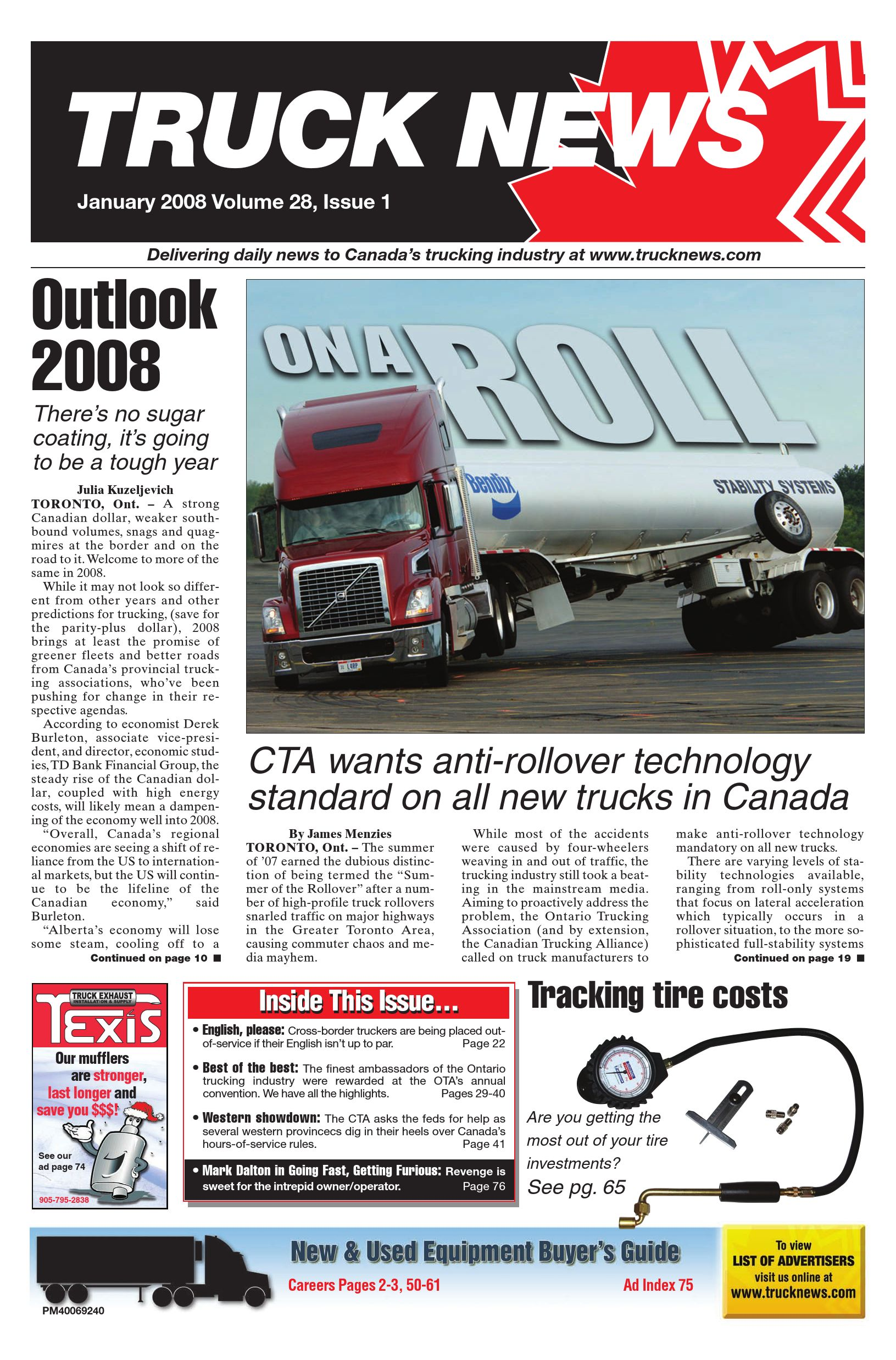 Truck News East – January 2008
