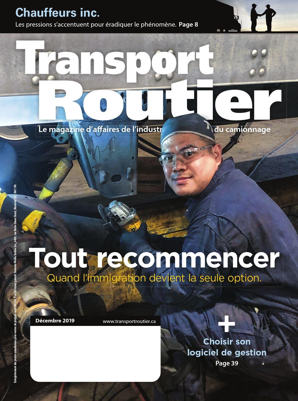 Transport routier – 1 décembre 2019