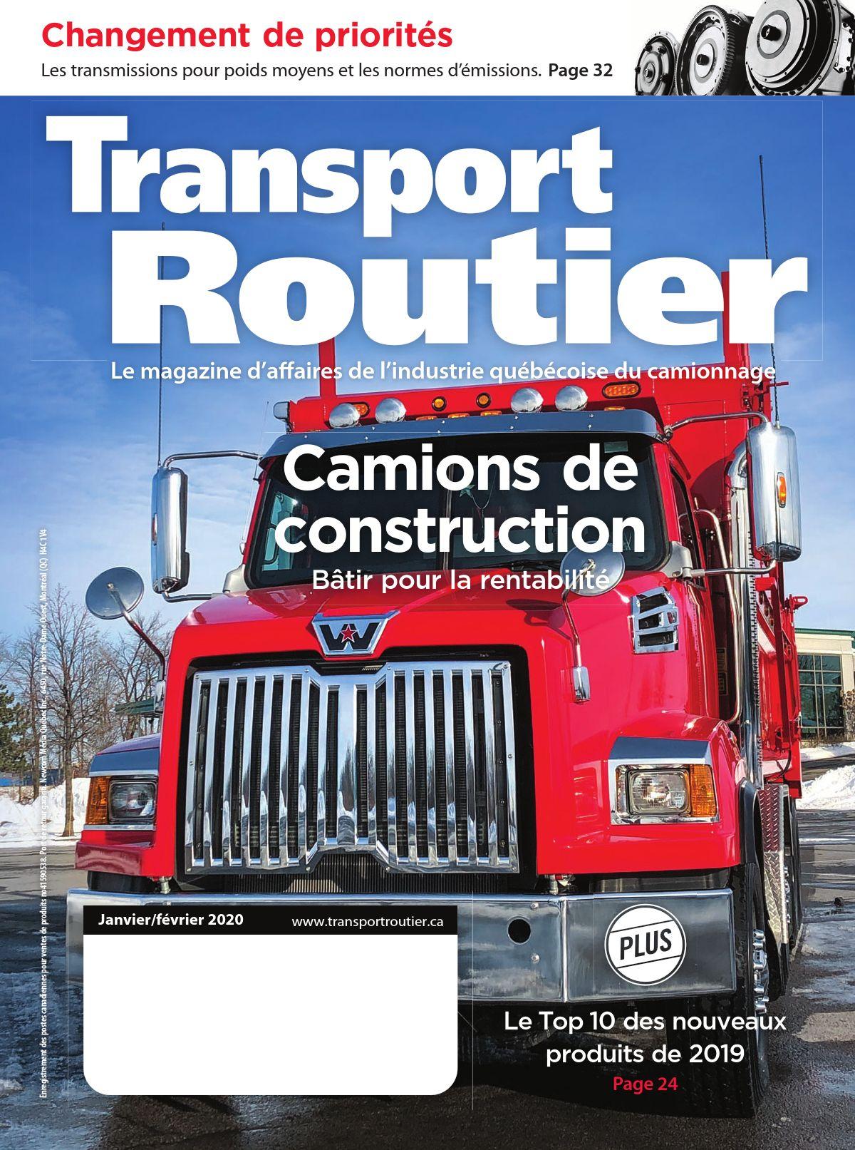 Transport routier – 1 février 2020