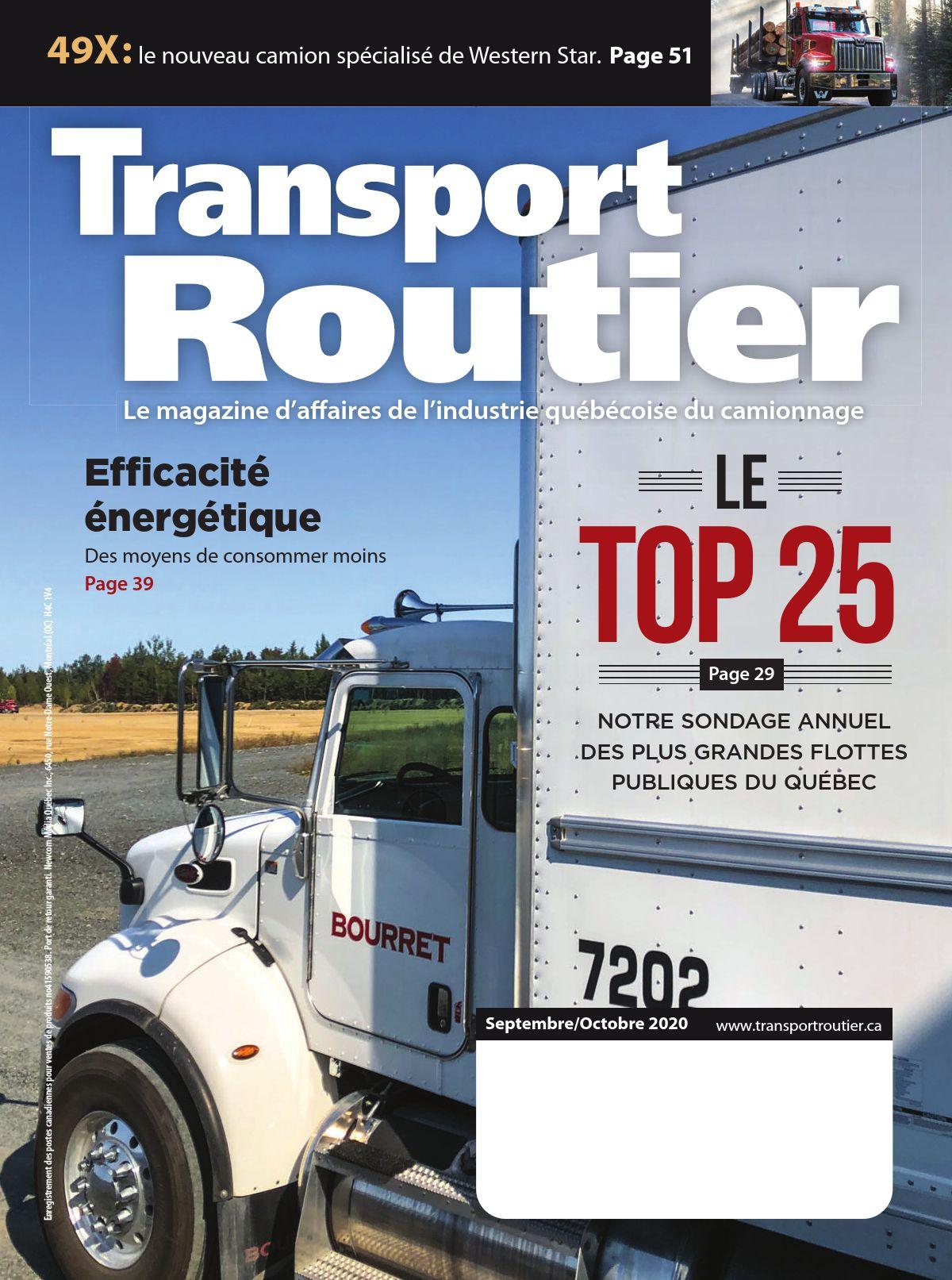 Transport routier – 1 septembre 2020