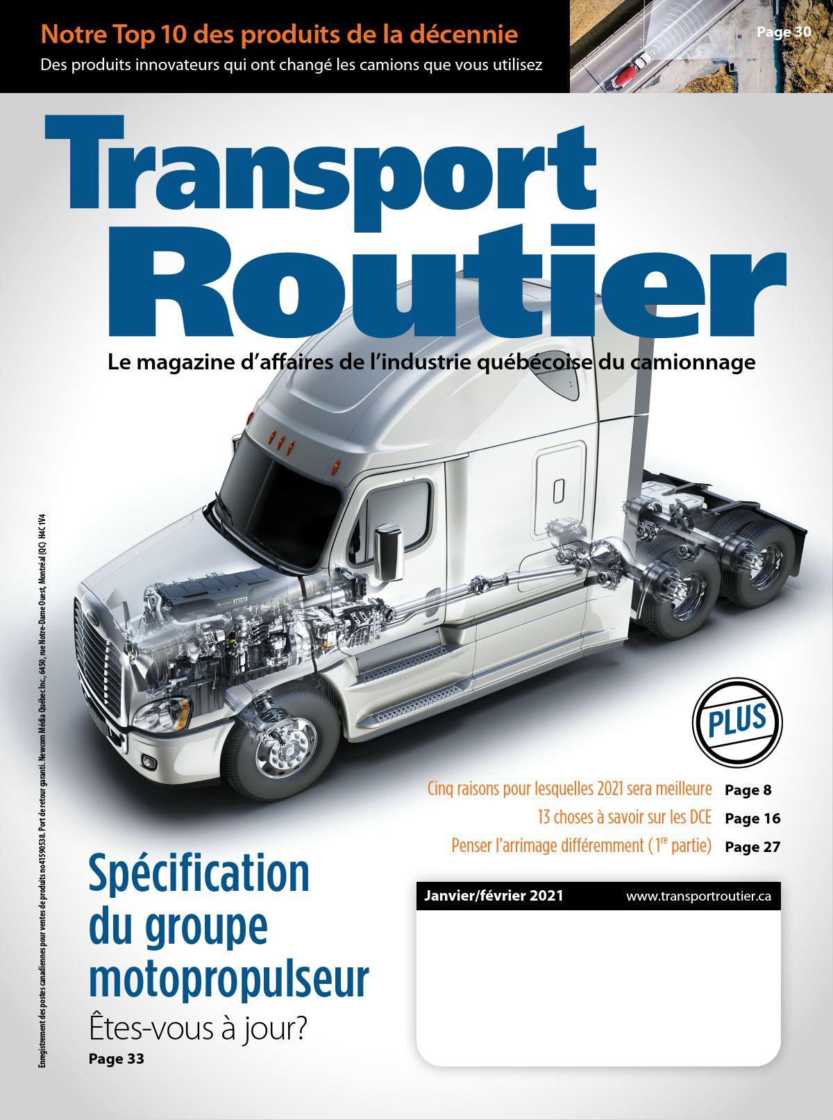 Transport routier – 1 janvier 2021