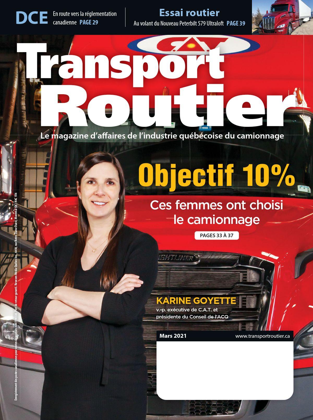 Transport routier – 1 mars 2021