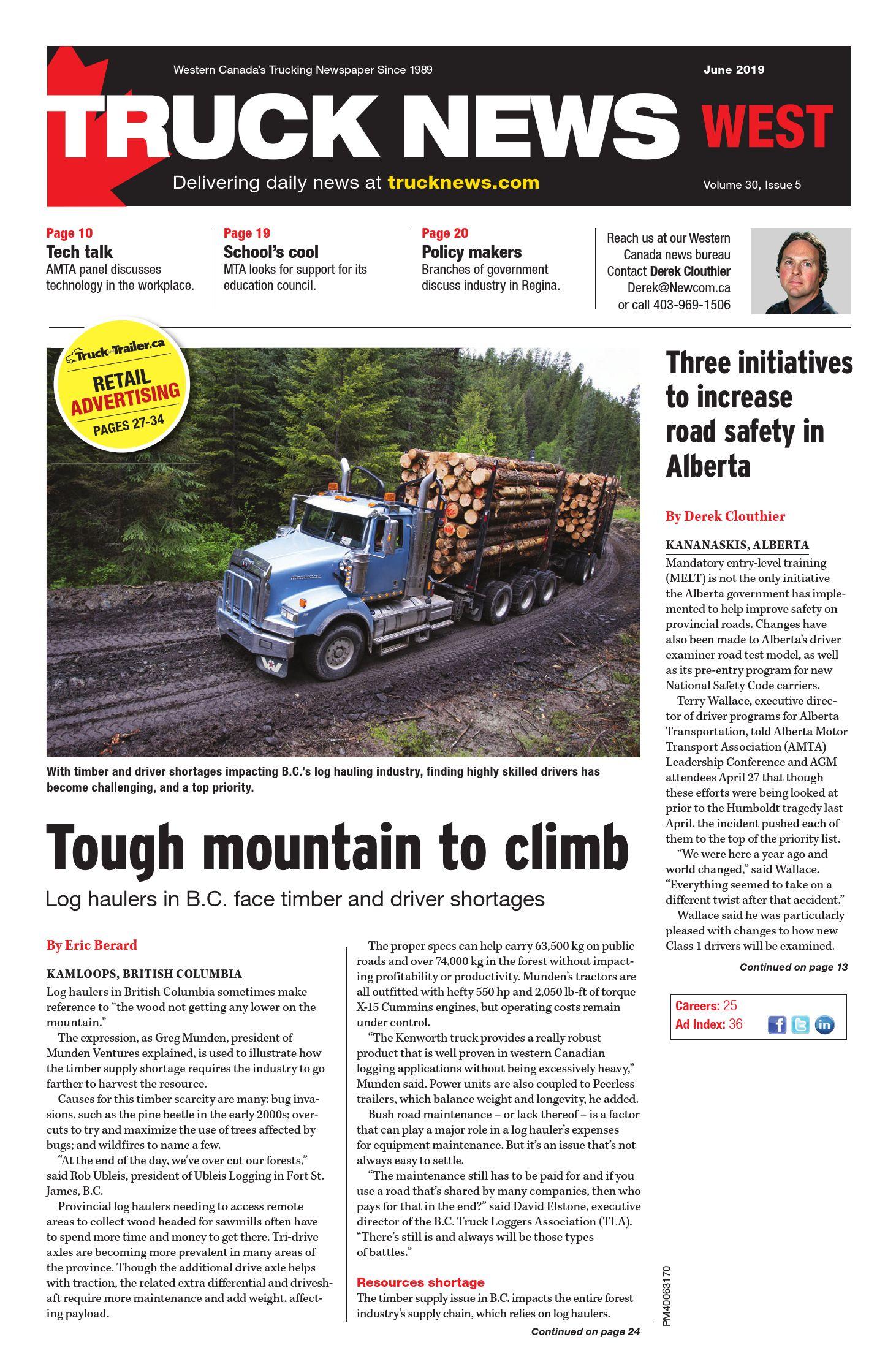Truck News West – 1 juin 2019
