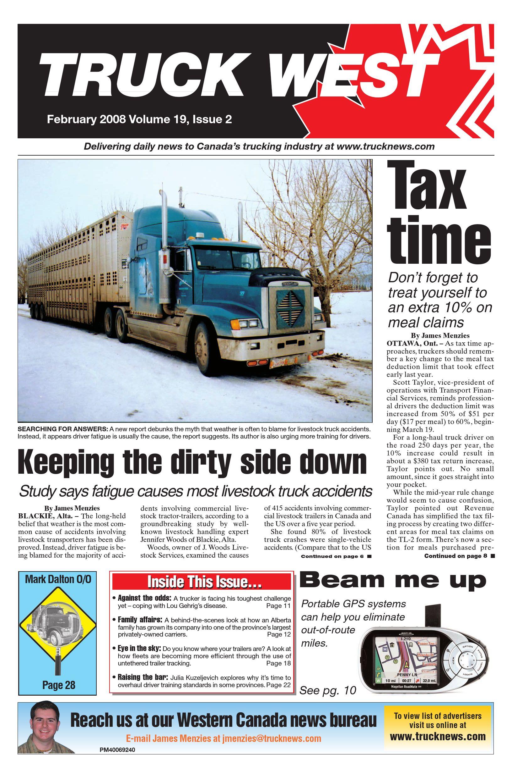 Truck News West – February 2008