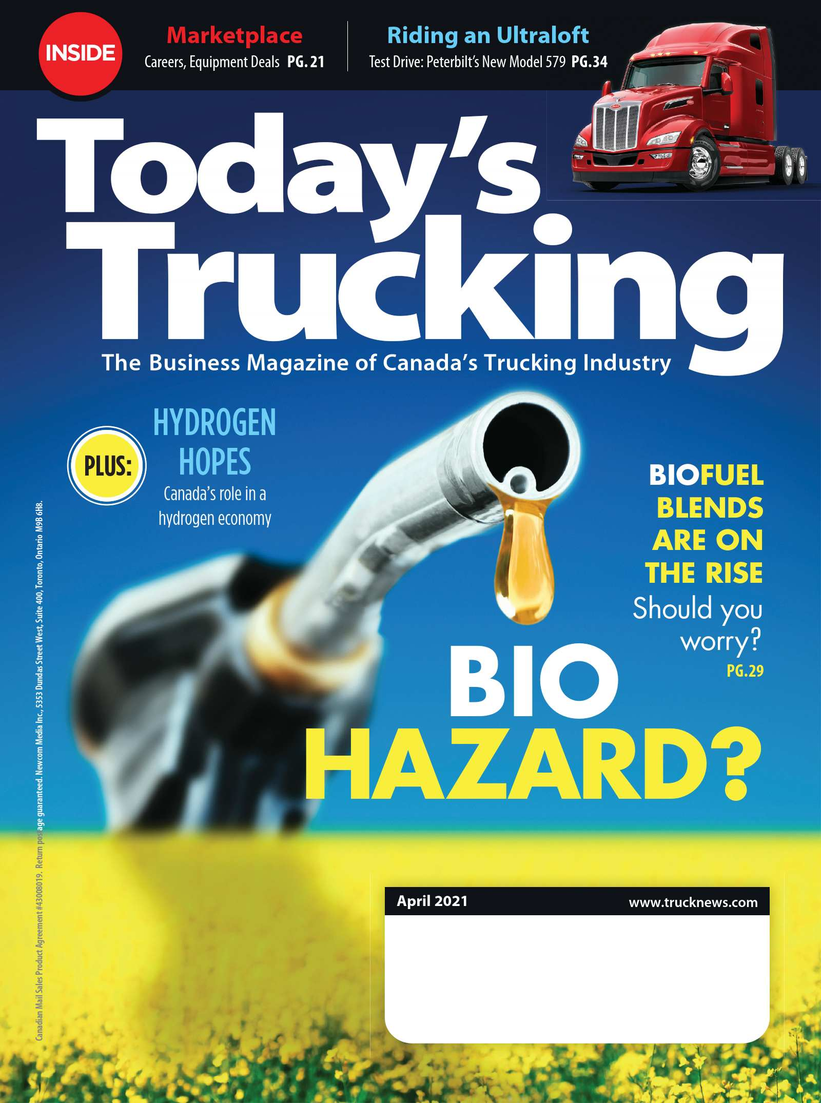 Today's Trucking – 1 avril 2021