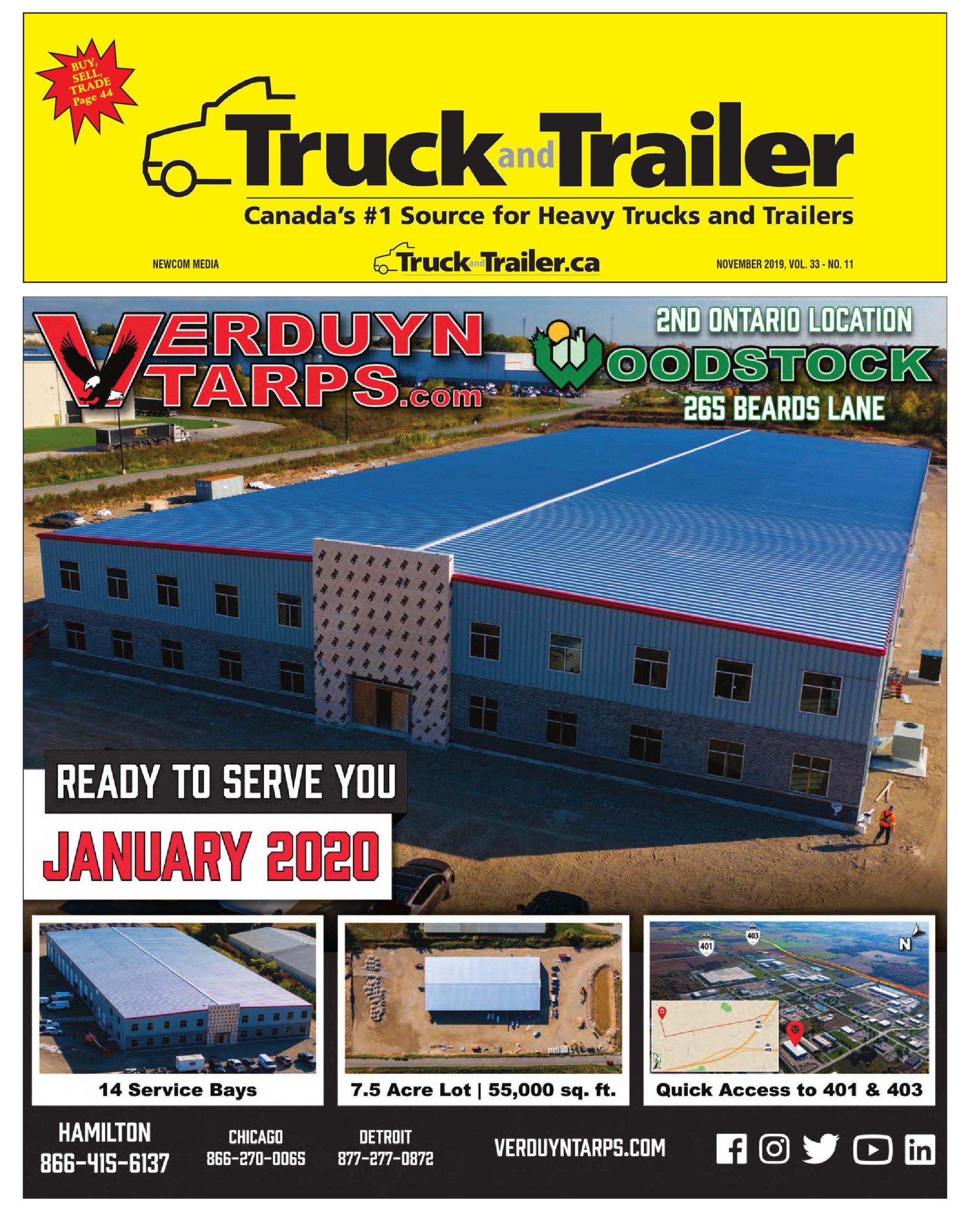 Truck and Trailer – 1 novembre 2019