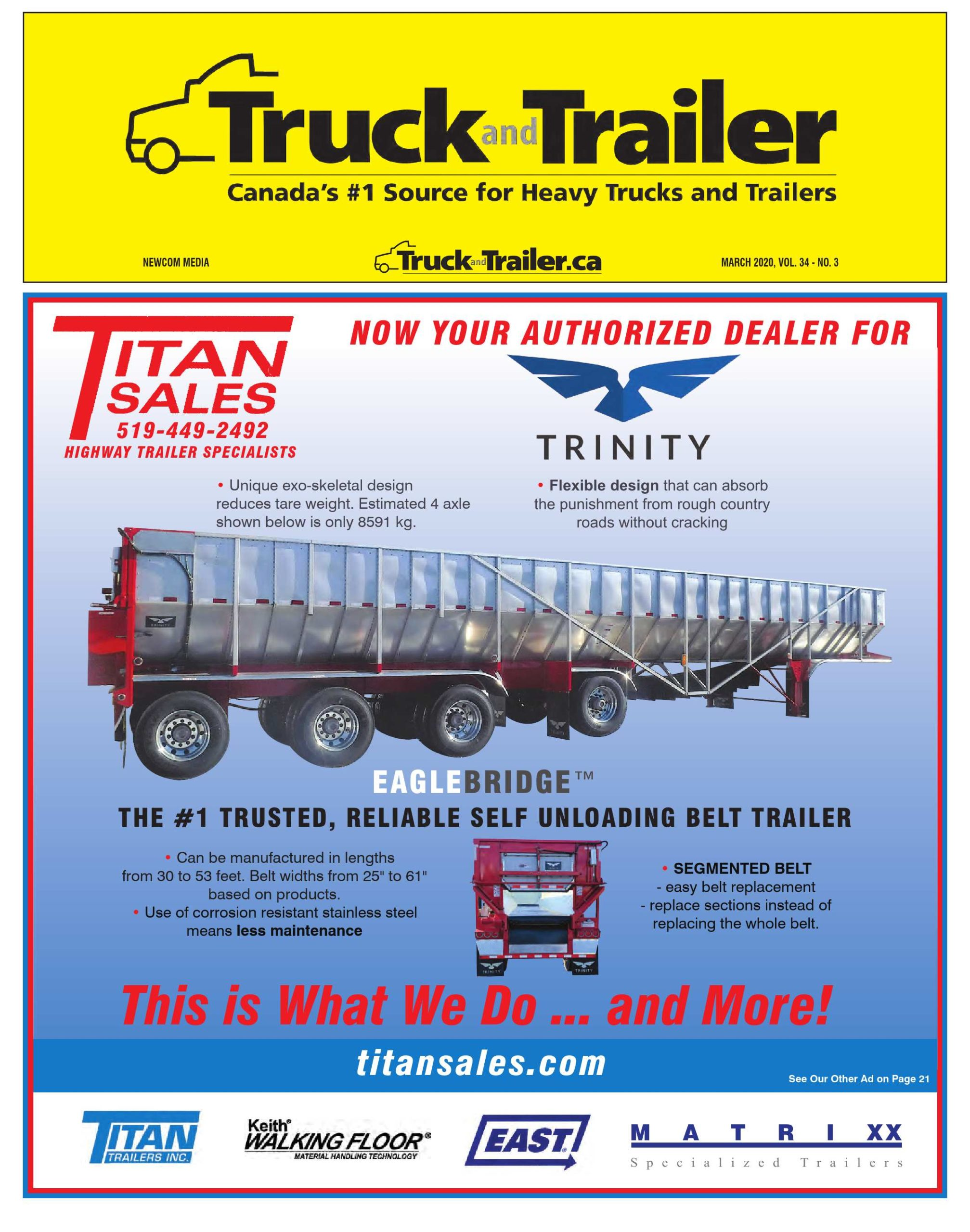 Truck and Trailer – 1 mars 2020