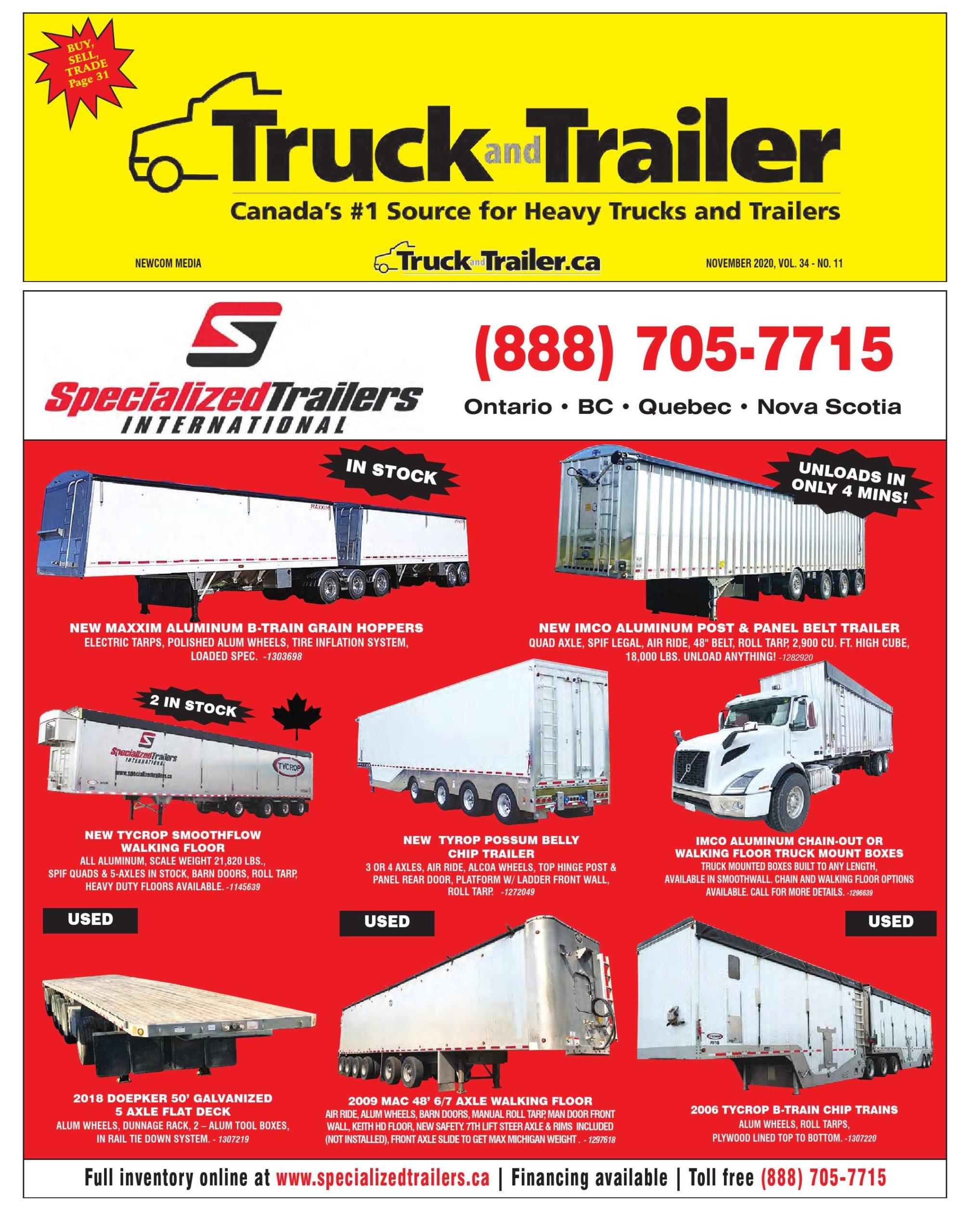 Truck and Trailer – 1 novembre 2020