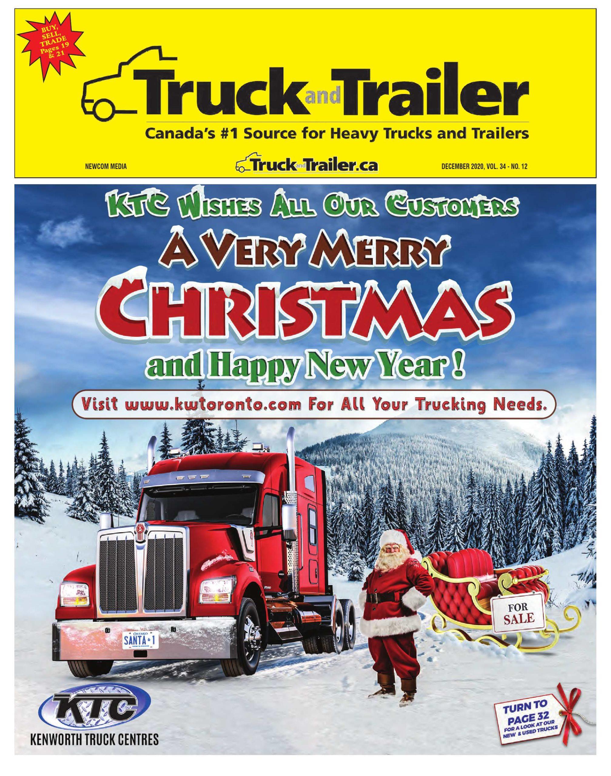 Truck and Trailer – 1 décembre 2020