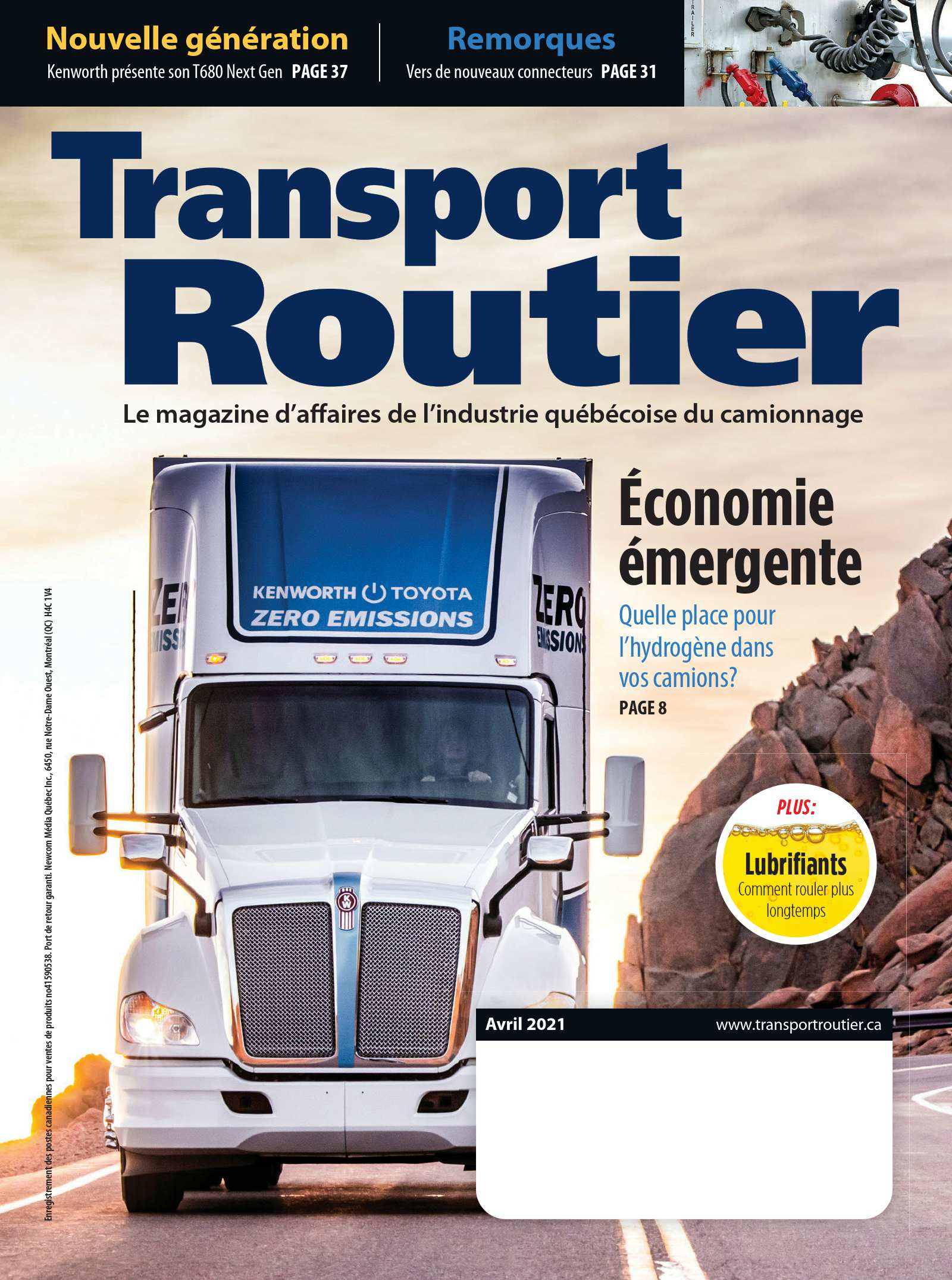 Transport routier – 1 avril 2021