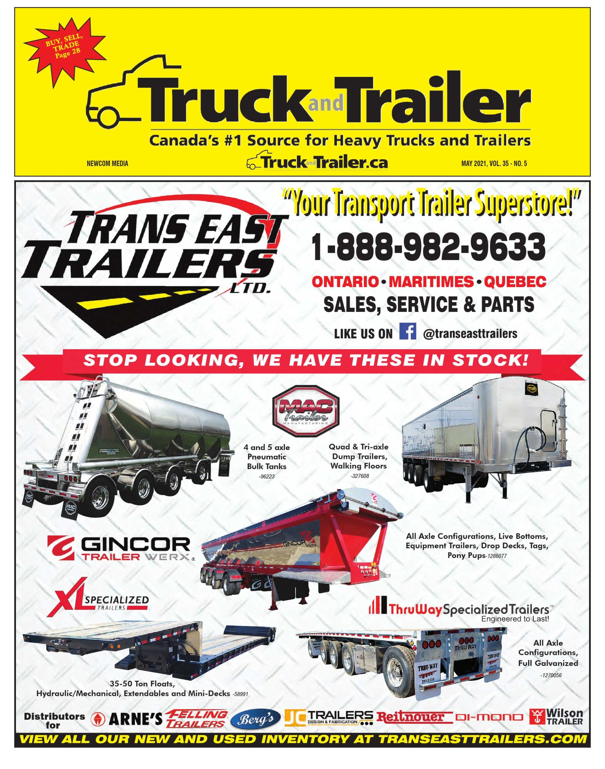 Truck and Trailer – 1 mai 2021