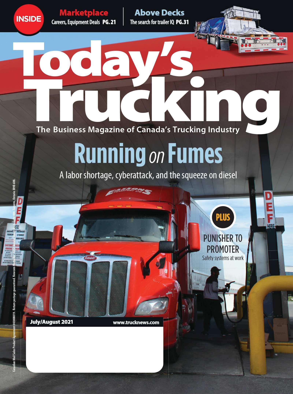 Today's Trucking – 1 juillet 2021
