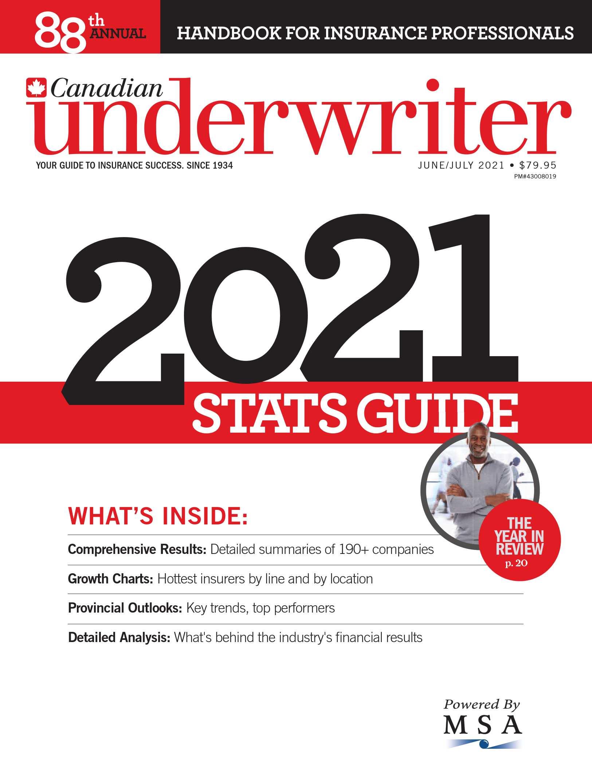 Canadian Underwriter – 2 juin 2021