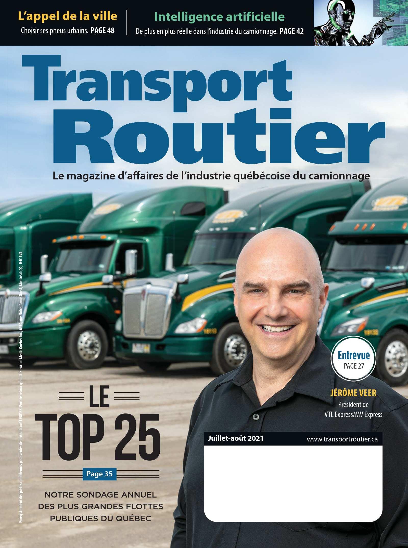 Transport routier – 1 juillet 2021