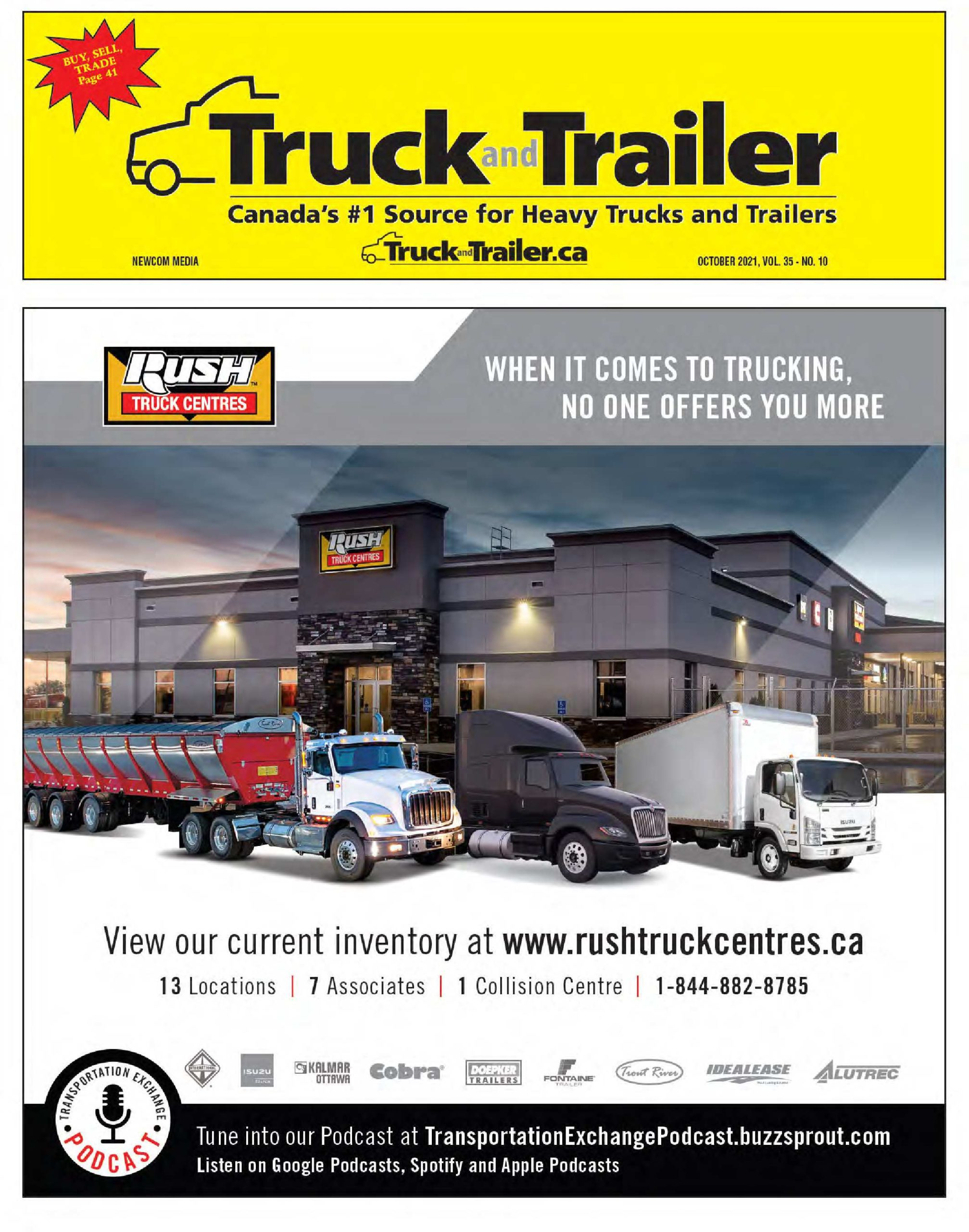 Truck and Trailer – 1 octobre 2021